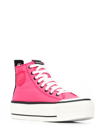 Diesel Colour-Block Sneakers Aw20 | Farfetch.Com