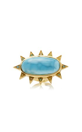 M.Spalten 18K Gold And Multi-Stone Ring