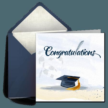 Graduation Hurrah | Graduation eCard, Graduation Congratulations Card, Greeting Card | Punchbowl