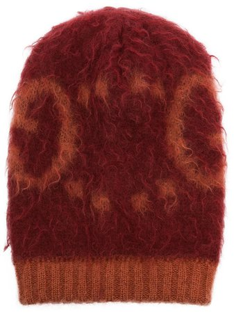Gucci logo-print Beanie Hat - Farfetch