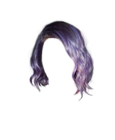 purple hair png doll