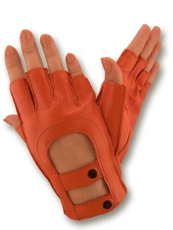 Driving gloves women Ladies leather gloves Womens fingerless | Etsy