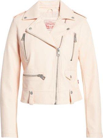 Levi's® Faux Leather Moto Jacket | Nordstrom