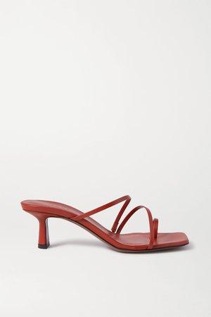 Tan Erandra leather sandals   Neous   NET-A-PORTER