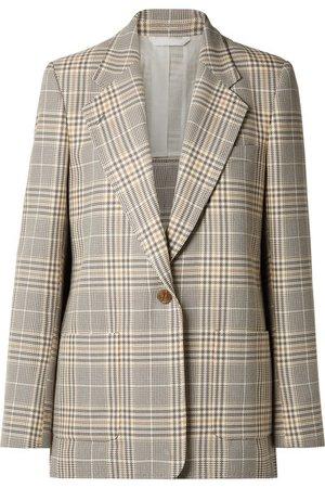 Acne Studios   Jana checked cotton-blend blazer   NET-A-PORTER.COM