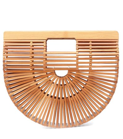 Ark Bamboo Small Clutch - Cult Gaia | mytheresa.com