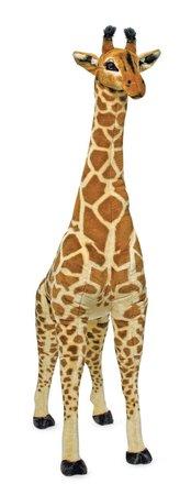 Melissa & Doug Personalized Giant Giraffe Lifelike Stuffed Animal Over 4' Tall Plush