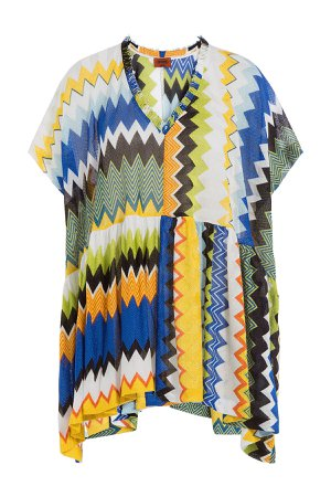 Chevron Knit Tunic Gr. L