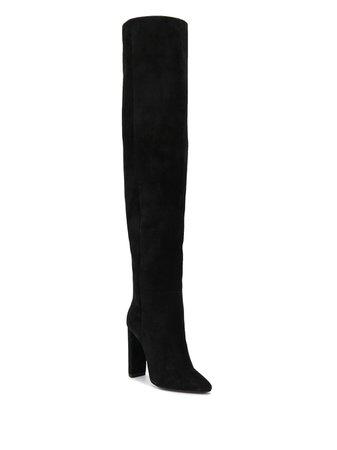 Saint Laurent 76 knee-high Boots - Farfetch