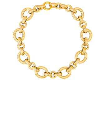 LAURA LOMBARDI Calle Necklace in Gold   FWRD