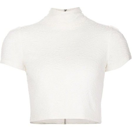 Alice Olivia Turtleneck Top ($260)