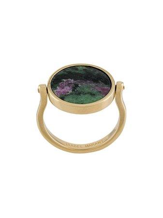 Isabel Marant Julius stone-embellished ring AW20   Farfetch.com