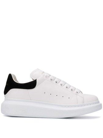White Alexander McQueen Oversized Sole Sneakers | Farfetch.com