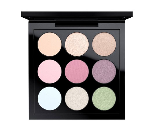 MAC pastel eyeshadow.