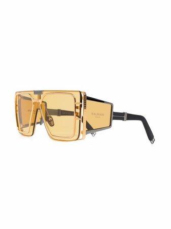 Balmain Eyewear square-frame Sunglasses - Farfetch