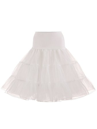 50s Retro Boneless Skirt Ballet Skirt Petticoat – MissFoxFashion