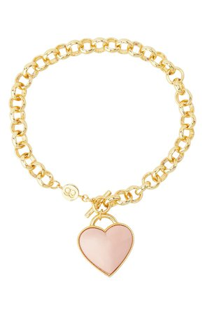 gorjana Kara Heart Charm Bracelet | Nordstrom