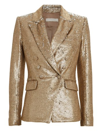 Double Breasted Sequin Blazer | INTERMIX®