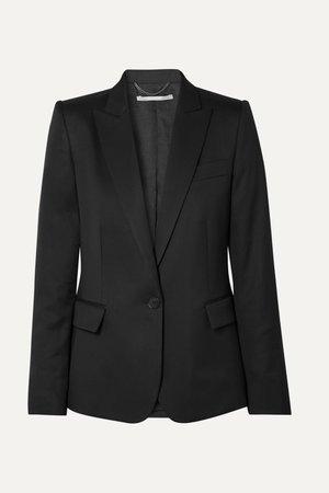 Black Ingrid wool blazer | Stella McCartney | NET-A-PORTER