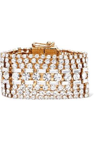 Rosantica | Luci gold-tone crystal bracelet | NET-A-PORTER.COM