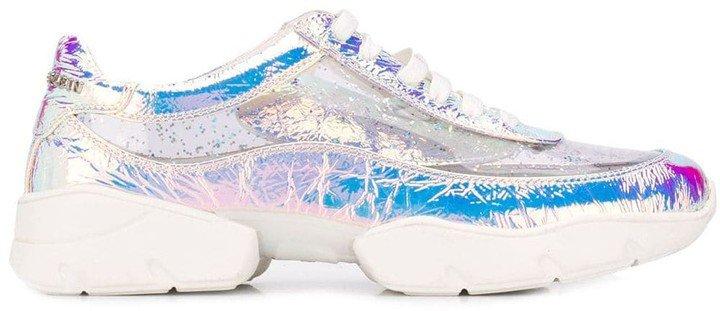 Laminated Sneakers