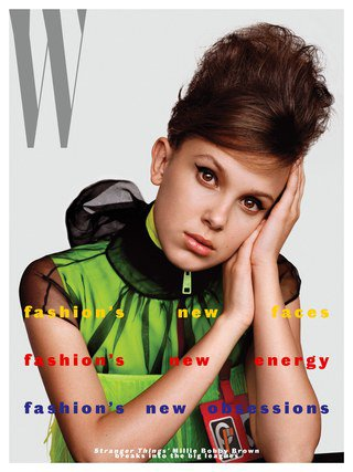 Millie Bobby Brown Is Already an Icon For Her Generation | W Magazine
