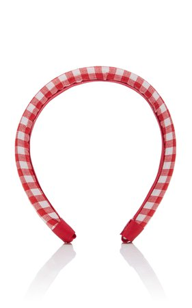 Epona Valley Gingham Cotton Headband