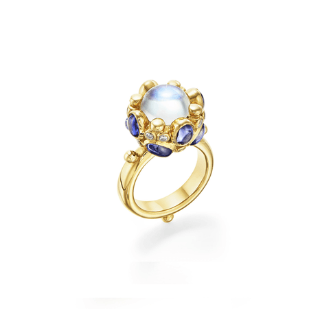 18K Royal Blue Moon Beatrice Ring – Temple St. Clair