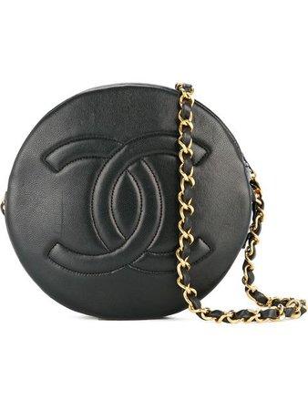 Chanel Vintage Sac Porté Épaule à Logo Embossé - Farfetch