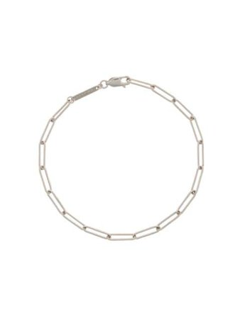 Shop silver Tom Wood sterling silver box-chain bracelet with Express Delivery - Farfetch
