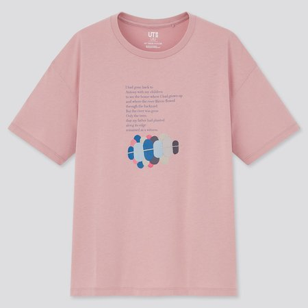 PINK WOMEN OF THEIR NATURE UT (SHORT-SLEEVE GRAPHIC T-SHIRT)   UNIQLO US