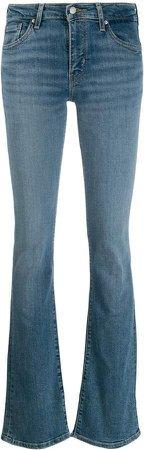 715 bootcut denim jeans