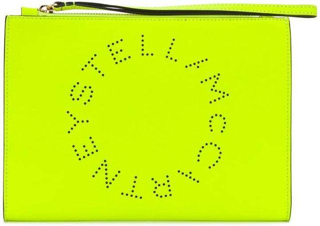 Stella Logo clutch bag