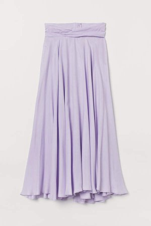Circle Skirt - Purple