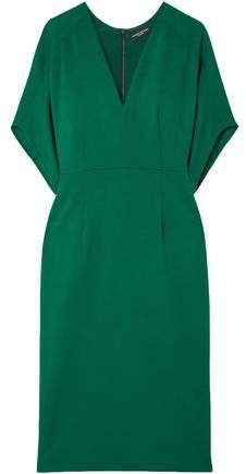 Wool-crepe Dress