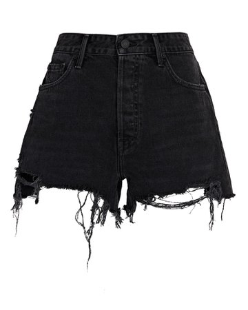 GRLFRND Helena Denim Shorts   INTERMIX®