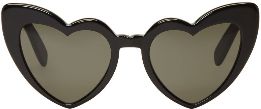 Saint Laurent Black Lou Lou Sunglasses