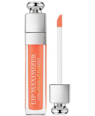 Lipgloss Dior Addict Lip Maximizer 004 Coral & Reviews - Makeup - Beauty - Macy's