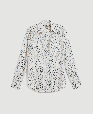 Spotted Camp Shirt | Ann Taylor