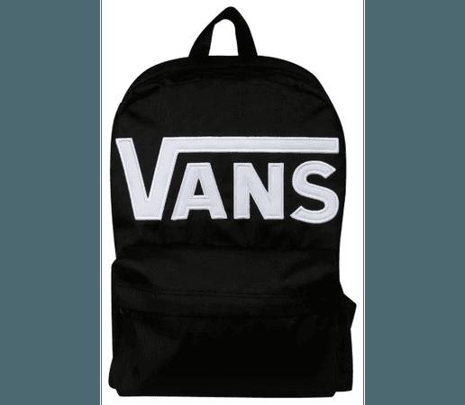 Vans Black Backpack