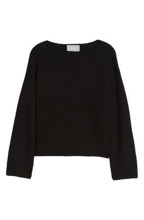 Everlane The Cashmere Rib Boatneck Sweater | Nordstrom