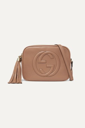Gucci | Soho Disco textured-leather shoulder bag | NET-A-PORTER.COM