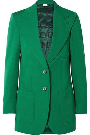 Gucci | Wool blazer | NET-A-PORTER.COM