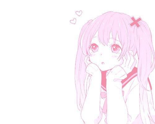 cute anime girl art