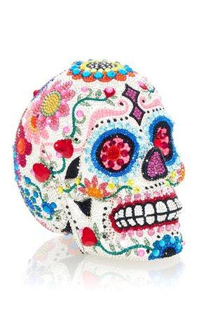 Skull Calavera Crystal Novelty Clutch By Judith Leiber Couture | Moda Operandi