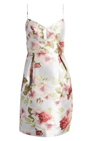 Sleeveless Floral Sheath Dress | Nordstrom