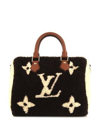 Louis Vuitton 2019 pre-owned Speedy Woven Tote Bag - Farfetch