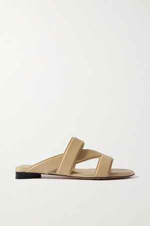 Leather Sandals - Off-white
