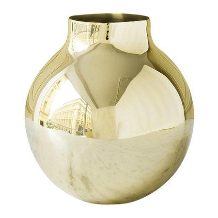 Skultuna Boule Gold Vase