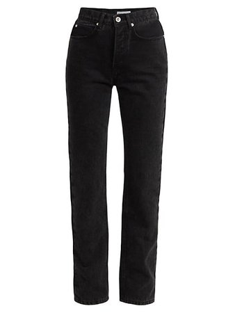 Paco Rabanne High-Rise Straight Jeans   SaksFifthAvenue